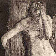 "Prints and Principles: Käthe Kollwitz's etching, ""Zertretene"" Life Drawing, Figure Drawing, Painting & Drawing, Encaustic Painting, Kathe Kollwitz, Etching Prints, Famous Art, Art Graphique, Gravure"