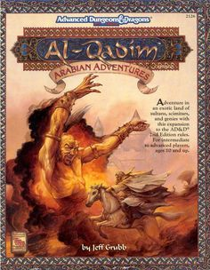 Al-Qadim from the old Advanced Dungeons & Dragons line.