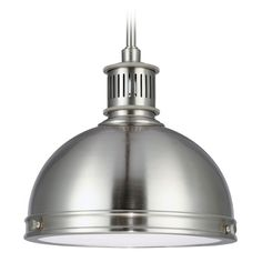 The Sea Gull Lighting Pratt Street Metal indoor pendant in satin bronze provides abundant light to your home, while adding style and interest. Inspired by industrial lighting, the hard-working, large-scale Pratt Street metal pendants by Sea G Mini Pendant Lights, Lantern Pendant, Light Pendant, Bronze Pendant, Industrial Lighting, Pendant Lighting, Kitchen Lighting, Industrial Style, Glass Diffuser