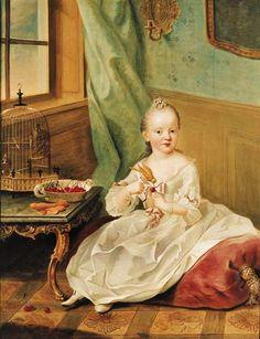 1757+Johann+Georg+Ziesenis+(German+artist,+1716-1777)+Portrait+of+Maria+Anna+of+Zweibrücken.jpg (447×582)