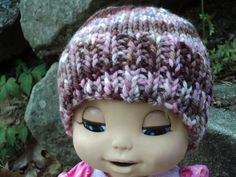 Hand Painted Wool Baby Hat by WendysWonders127 on Etsy, $15.00