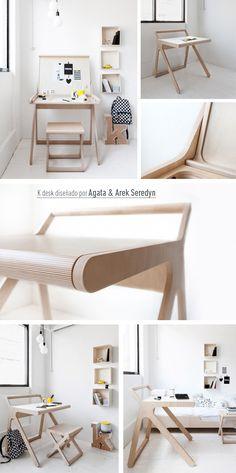 Escritorios infantiles, los mejores diseños. Kid´s Desk, best designs. By K Desk