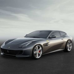 "The new Ferrari GTC4Lusso: four-seater, four-wheel drive and steering V12. A ""Whole new world"" of experience."