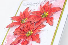 The first sneak peek at a project in your Christmas Edition of Making Cards in stores Friday 9th October! Perfect your poinsettia by Tracy Evans.  Visit www.makingcardsmagazine.com or call 01778 395171 for subscriptions and single copy sales.