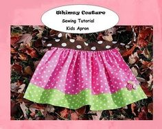 cute apron tutorial for a little girl from whimsy Couture