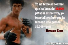 Frases de Bruce Lee con imagenes Bruce Lee Frases, Happy People, Kung Fu, Muscles, Powerful Quotes, Motivation Quotes, Words, Gym Quote, Favorite Quotes