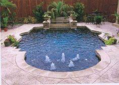 Dry Stack Custom Swimming Pool North Richland Hills
