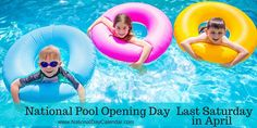 April 30, 2016 – NATIONAL POOL OPENING DAY – NATIONAL MILITARY BRATS DAY – NATIONAL PREPAREATHON! DAY – NATIONAL OATMEAL COOKIE DAY – NATIONAL RAISIN DAY – NATIONAL BUGS BUNNY DAY – NATIONAL HAIRSTYLIST APPRECIATION DAY – NATIONAL HONESTY DAY – NATIONAL KISS OF HOPE DAY – NATIONAL SARCOIDOSIS DAY – NATIONAL REBUILDING DAY – NATIONAL SENSE OF SMELL DAY