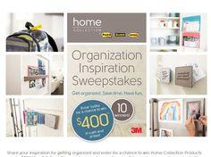 Organization Inspiration Sweepstakes