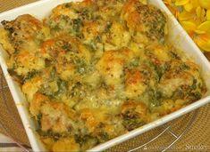 Pyszny kalafior zapiekany z serem Quiche, Cauliflower, Vegetables, Breakfast, Gnomes, Food, Cooking Recipes, Cooking, Essen