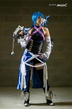 Aqua from kingdom hearts birth by sleep cosplay