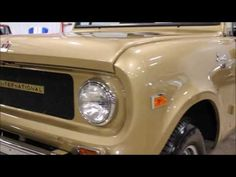 1967 International Scout gold - YouTube #GRAutoGallery