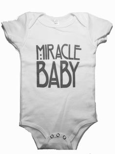 Miracle Baby Onesie