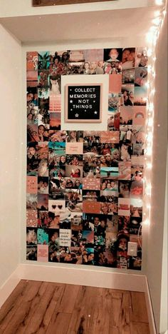Diy Wall Decor For Bedroom, Bedroom Wall Collage, Cute Room Decor, Room Ideas Bedroom, Teen Room Decor, Small Room Bedroom, Bedroom Inspo, Teen Bedroom, Bedroom Picture Walls