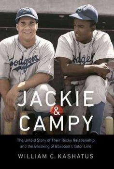 As star players for the 1955 World Champion Brooklyn Dodgers, and prior to that as the first black players to be candidates to break professional baseball's color barrier, Jackie Robinson and Roy Campanella would seem to be natural allies. Date, Nebraska, Dodgers Baseball, Baseball Art, Baseball Photos, Baseball Players, Jackie Robinson, Fiction And Nonfiction, Sports Figures