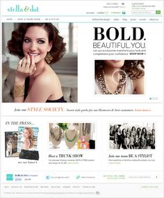 Stella & Dot on Magento Stella Dot, Ecommerce, Digital Marketing, Stylists, Fashion Jewelry, This Or That Questions, Blog, Shopping, Google Search