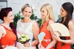 #vintageweddingdress by #brautgeflüster #bridesmaiddresses by #blutsgeschwister available @ #diekunststaettefashion. Foto: Christian Irrasch Photography #50sweddings, #weddingdress, #bridesmaids, #ilovevintage, #vintagelove