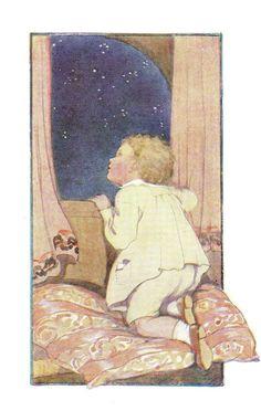 ✯ Twinkle Twinkle Little Star :: Margaret Tarrant -1920- ✯