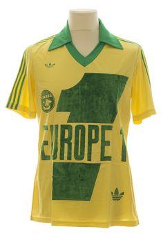 As Monaco, Short Vert, Fc Nantes, Classic Football Shirts, Football Kits, Retro, Club, Polo Ralph Lauren, Polo Shirt