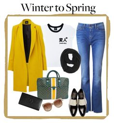 """""""Winter to Spring"""" by annisamuahmuah ❤ liked on Polyvore featuring Illustrated People, Givenchy, Goyard, Paula Bianco, STELLA McCARTNEY and Chanel"""