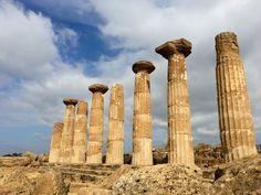 La valle dei templi, Agrigento, Sicilia, Italia