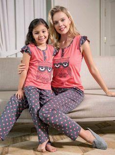 Girls Pajamas, Pajamas Women, Mom And Baby Outfits, Kids Dress Wear, Pajama Outfits, Night Suit, Baby Suit, Pyjamas, Latest African Fashion Dresses