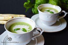 Zupa krem ze szparagów, brokułów i bazylii. Zupy krem należą do najszybszych dań, które możemy zaoferować rodzinie i gościom. Jednocześnie pozwalają osiągnąć świetny efekt wizualny i są bardzo łatwe w przygotowaniu.