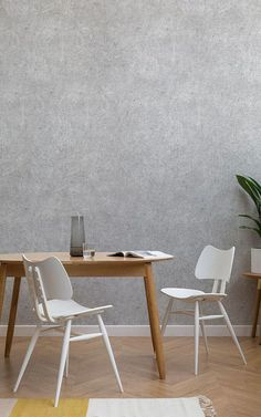 Checkout our amazing rustic concrete effect wallpaper mural. This black & white distressed design is perfect for any kitchen or bathroom. Grey Wallpaper, Modern Wallpaper, Home Wallpaper, Textured Wallpaper, Textured Walls, Wallpaper Ideas, Living Room Colors, Living Room Designs, Living Room Decor