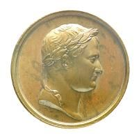 Medal commemorating the planned invasion of England, 1804