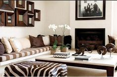 Afrocentric Style Decor - Design centered on African Influenced Elements                                                                                                                                                      More