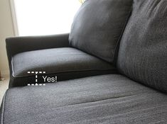 How to Stuff your Sofa cushions and give them new life!
