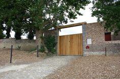 Tenuta di Hougoumont, portone lato nord