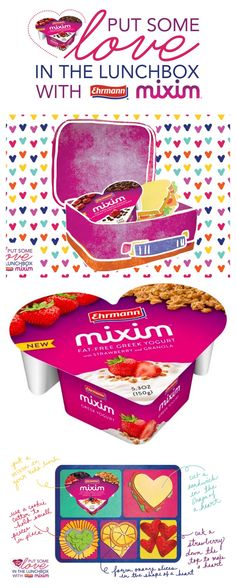 MIXIM greek yogurt LOVE in the Lunch Box #weePLAN #BTS