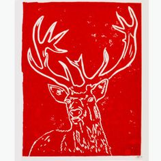 stag red PRINT