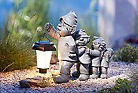 Gnomfamilie mit Solar-Laterne Gnome, Garden Sculpture, Solar, Outdoor Decor, Home Decor, House Decorations, Teaching High Schools, Third Child, Home And Garden