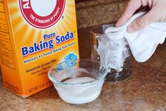 When water evaporates from glass, it sometimes leaves behind white spots or residue, which are actually minerals such as calcium or magnesium. While you could use chemicals to remove the spots, in many cases, all you need are items you already have at home, such as vinegar and water. The same homemade solutions can be used to treat calcium buildup...