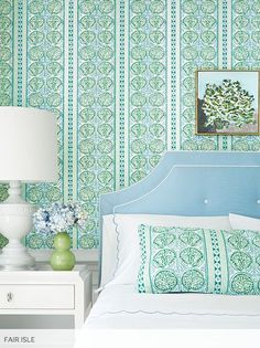 Thibaut Fine Furniture and Wallpaper as seen on http://www.hadleycourt.com
