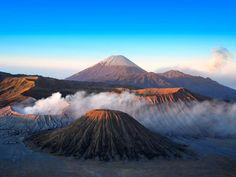 Volcan Bromo sur l'île de Java, en Indonésie