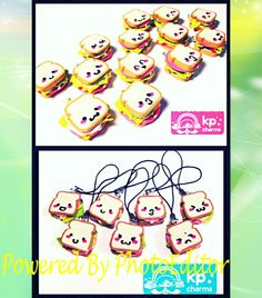These are some clay charm ideas from the YouTube video called kawaii polymer clay charm ideas- Chica5551