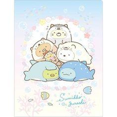 San-X Sumikko Gurashi Sea Life Costumes Mini Memo Pad (◕ᴥ◕) Kawaii Panda - Making Life Cuter Japanese Drawings, Japanese Cartoon, Cute Japanese, Cute Animal Drawings Kawaii, Kawaii Drawings, Cute Drawings, Kawaii Doodles, Cute Doodles, Hyanna Natsu