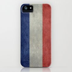 The National Flag of France iPhone & iPod Case by Bruce Stanfield - $35.00