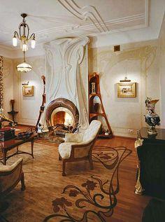 Villa Liberty Art Nouveau home, Moscow