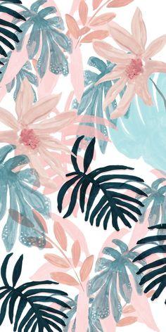 tropical wallpaper desktop Palms is part of Tropical Beach Palm Sky View Wallpaper Wallpapers Com - Pink Spring Casetify iPhone Art Design Floral Flowers Wallpaper Pastel, Frühling Wallpaper, Spring Wallpaper, Tropical Wallpaper, Aesthetic Pastel Wallpaper, Iphone Background Wallpaper, Floral Wallpaper Iphone, Iphone Wallpapers, Walpaper Iphone