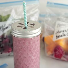 Very Berry Smoothie - Fitnessmagazine.com