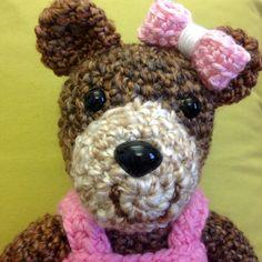 Tina the Teddy Bear and her bow