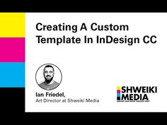 Creating A Custom Template In InDesign CC - YouTube Adobe Indesign, Art Director, Graphics, Graphic Design, Templates, Create, Youtube, Prints, Stencils