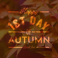 Happy #firstdayoffall : ) #fall #graphics @jaf_ba #graphicdesign #fall #autumn #autumnequinox #instagram #design