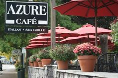 Azure Cafe Freeport, Maine