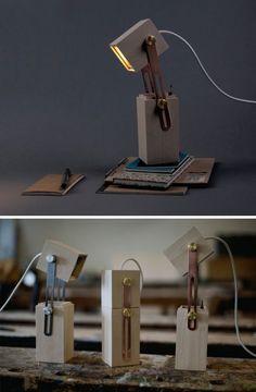 Pencil Box Light: Little Desk Lamp Contains Creative Surprise: