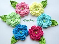 3D Knitting Flowers